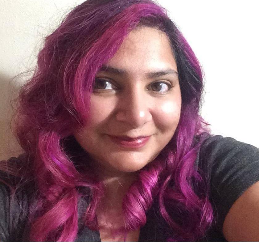 Michelle Purple Hair 300 DPI